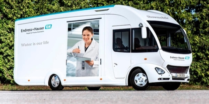 Showmobile de Endress+Hauser